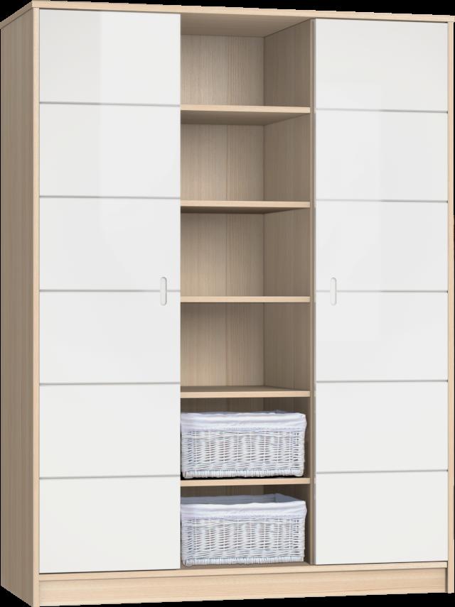 ALDA-classic 3 osztású szekrény