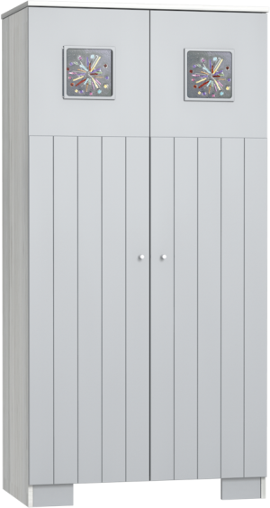 KAMILLA-Polar-2 osztású szekrény