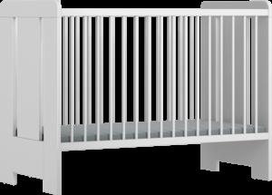 MiA-fehér 120-as babaágy
